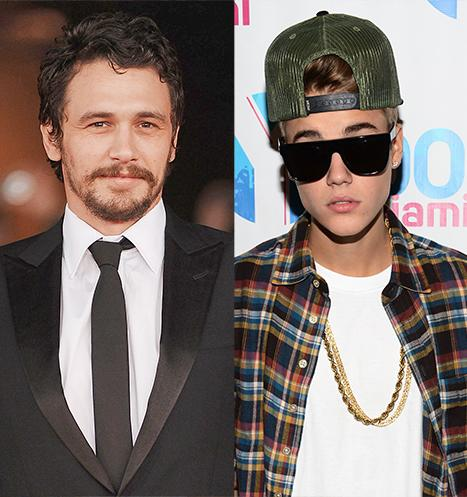 "James Franco: ""I Wasn't Trying to Diss"" Justin Bieber With ""Boyfriend"" Video"