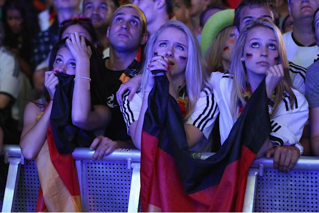 Germany v Italy - Public Viewing: UEFA EURO 2012