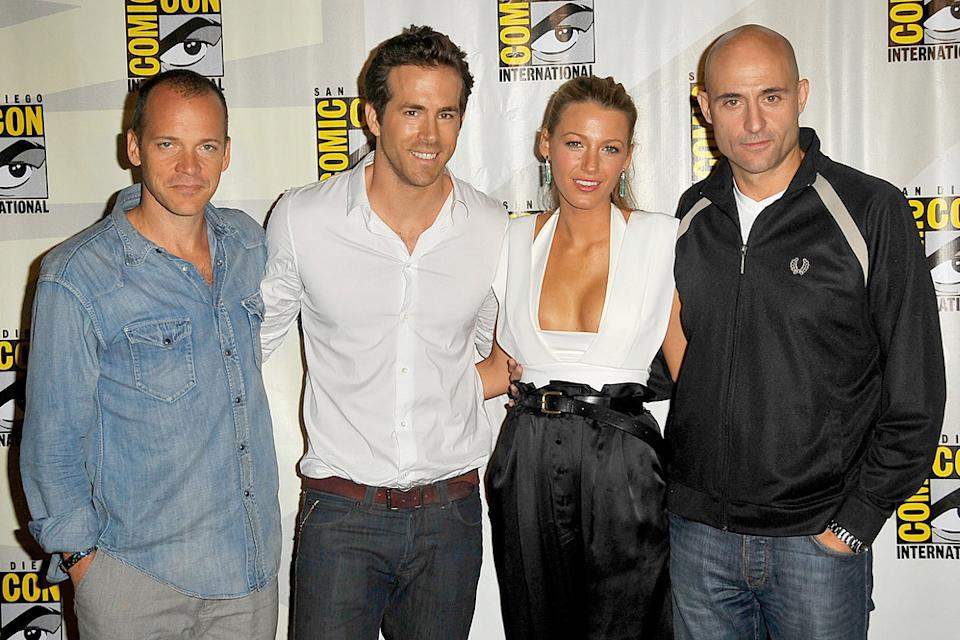 2010 Comic Con Panels Peter Sarsgaard Ryan Reynolds Blake Lively Mark Strong