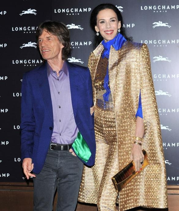 Jerry Hall Defends Mick Jagger's 'Fling' After L'Wren Scott's Suicide Saying He Is 'Single'