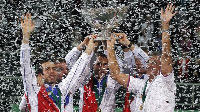 Davis Cup - Davis Cup 2014 draw pits Czechs against Dutch