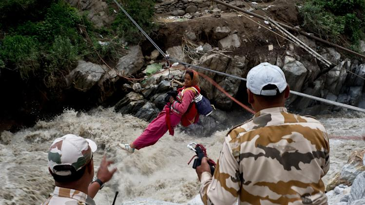 Dramatic images of Uttarakhand rescue operations