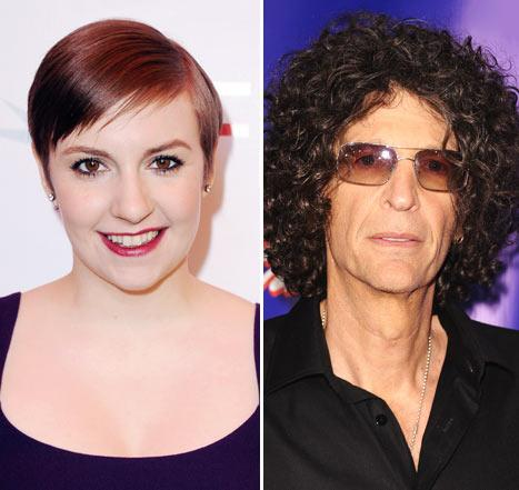 "Howard Stern Calls Lena Dunham ""Little Fat Girl,"" Likens Girls Sex Scenes to ""Rape"""