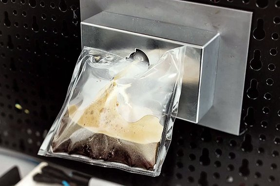 """A prototype of Lavazza's and Argotec's """"ISSpresso"""" (Space.com)"""