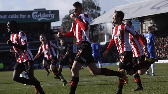 FA Cup - Torres strike prevents Brentford toppling Chelsea