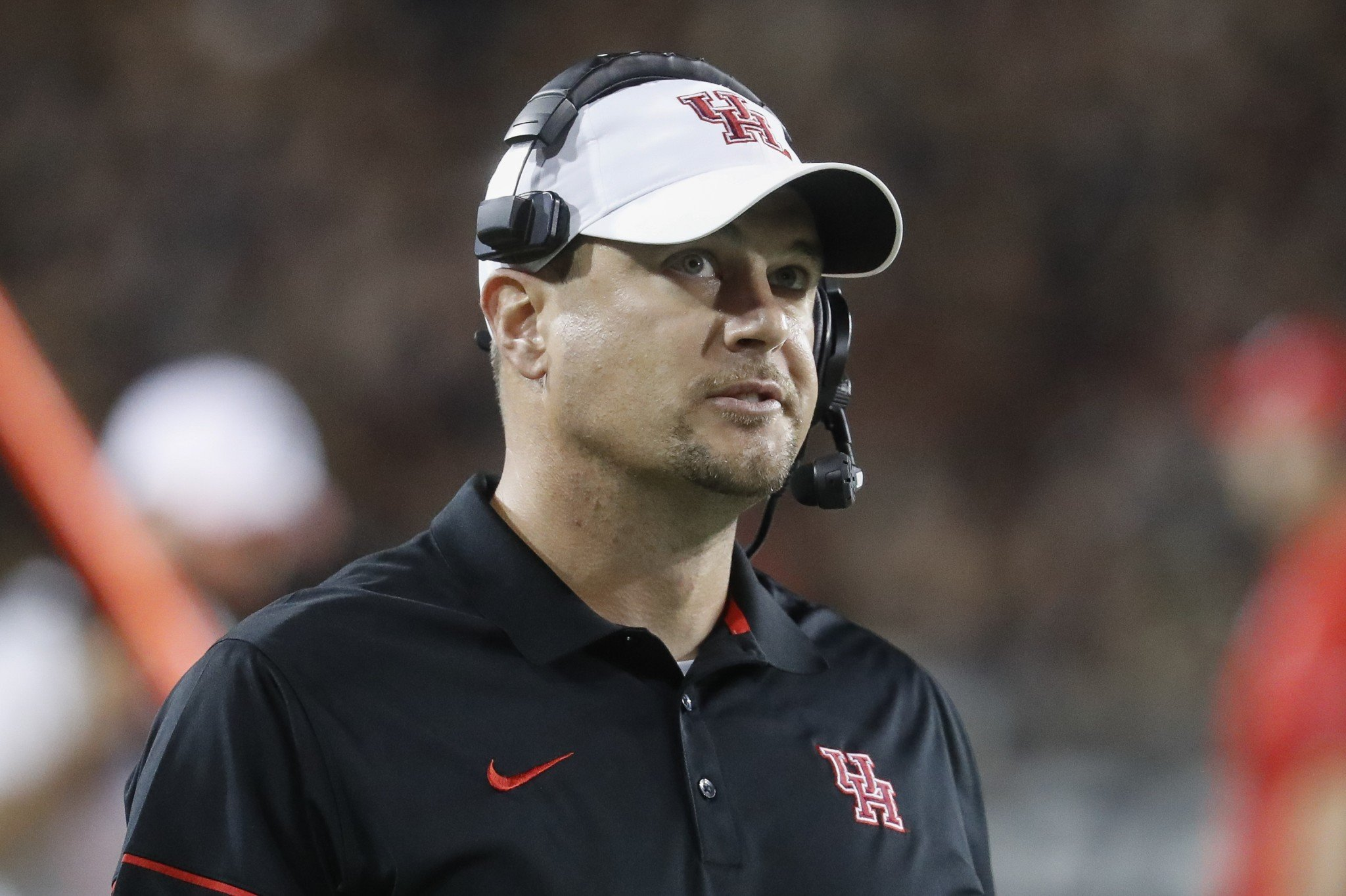 Houston coach Tom Herman will reportedly be Texas' new coach. (Getty)