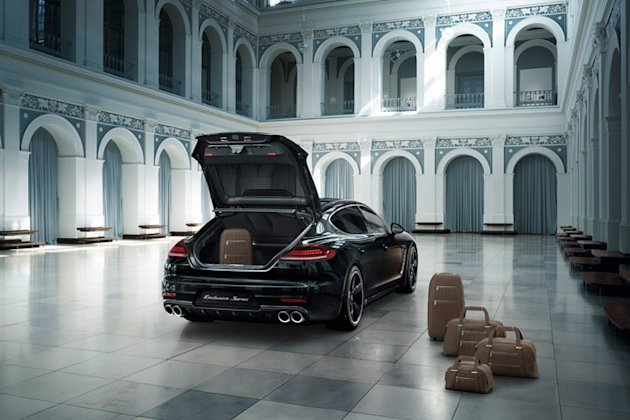 Panamera Exclusive luggage photo