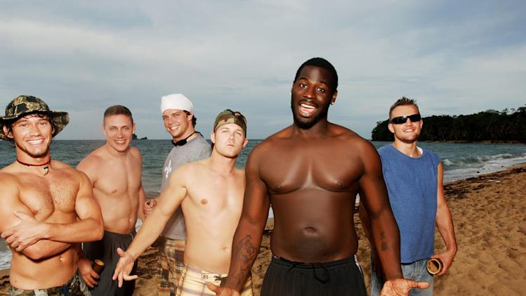 The guys on Real World/Road Rules Challenge: The Island