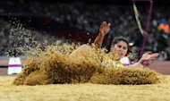 South Africa's Johanna Pretorius competes in the women's long jump F13 final at the Paralympics on September 7. Organisers have promised that the closing ceremony will be a celebratory farewell and look ahead to the next event in Rio de Janeiro
