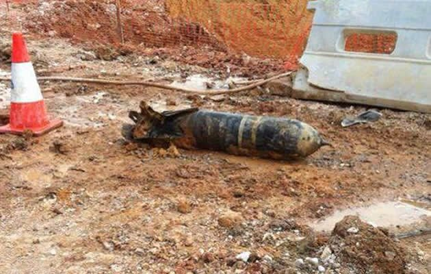 War relic was detonated by SAF after it was found at Seletar construction site. (SAF Facebook screengrab)