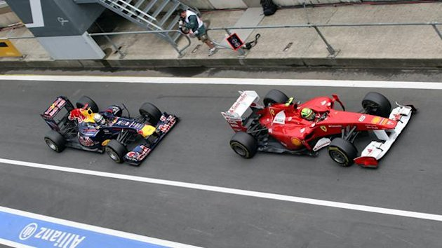 Vettel Massa Germania 2011