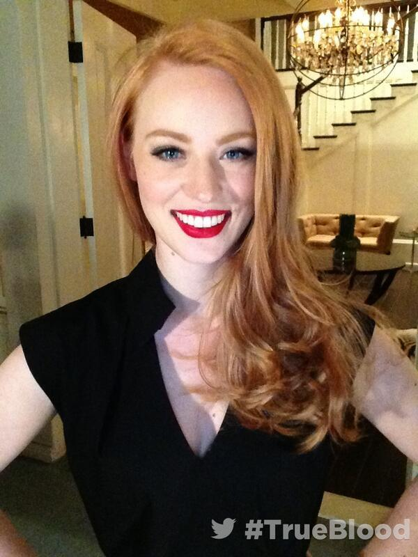 Backstage at #TrueBlood Live from the Set ?with Deborah Ann Woll @deborah_annwoll