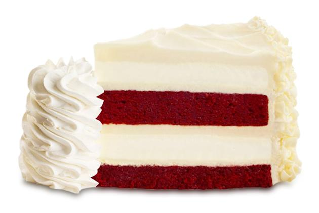 The Cheesecake Factory Ultimate Red Velvet Cake Cheesecake