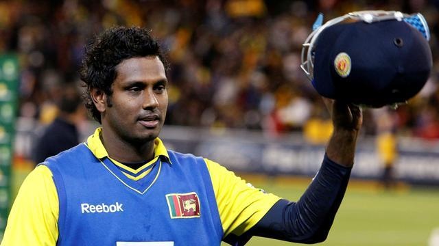 Cricket - Angelo Mathews takes over as Sri Lanka captain