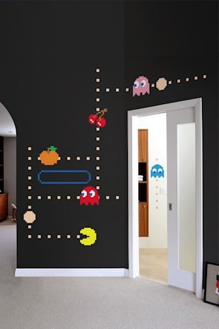 Pac Man Vinyl Art