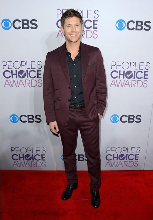 "BEST: Jensen Ackles.  The ""Supernatural"" star proves that men can mix it up on the red carpet. His aubergine suit stands out without being too ostentatious."