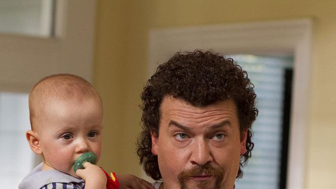 "Austin McLamb and Danny McBride as Kenny Powers in ""Eastbound & Down."""