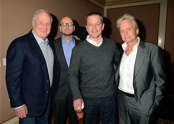 Michael Douglas, Matt Damon, Steven Soderbergh & Jerry Weintraub On HBO's 'Behind The Candelabra': TCA
