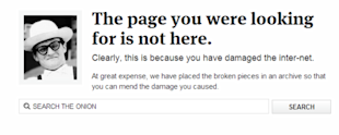 Creating Content for Sensitive Situations image the onion 404 page screenshot1 resized 600