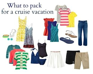 What you need to pack for a cruise