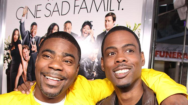 Death at a Funeral 2010 LA Premiere Tracy Morgan Chris Rock