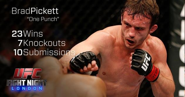 Brad Pickett UFC Fight Night London