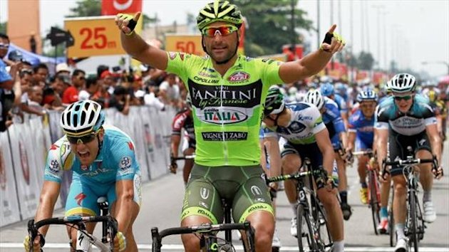 Francesco Chicchi wins (Imago)