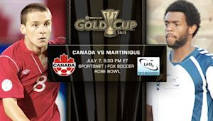 Canada vs. Martinique | Gold Cup Match Preview