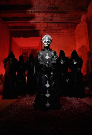 Ghost BC Jam for the Devil in 'Monstrance Clocks' - Song Premiere