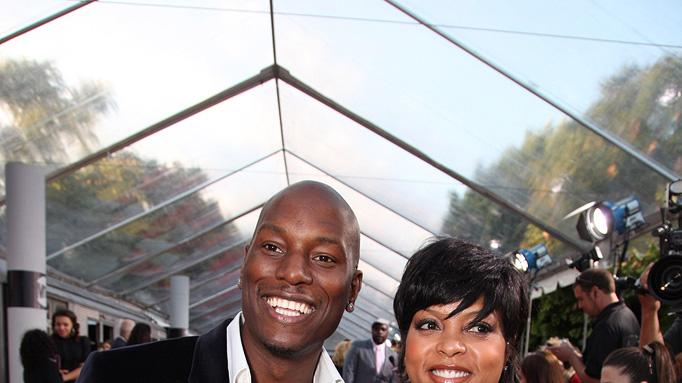 The Taking of Pelham 123 LA Premiere 2009 Tyrese Gibson Taraji P Henson