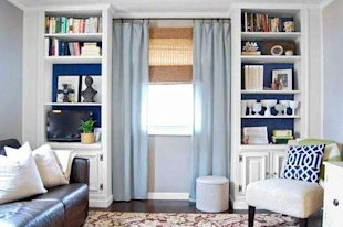 Budget built-ins you can DIY (and un-build when you move)