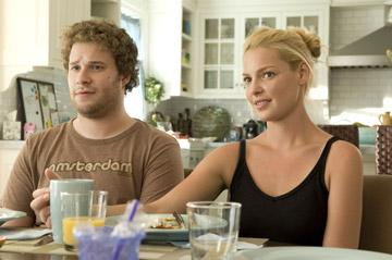 Seth Rogen and Katherine Heigl in Universal Pictures' Knocked Up
