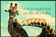 How To Build Trust Through Social Media image how to build trust on social media 300x198