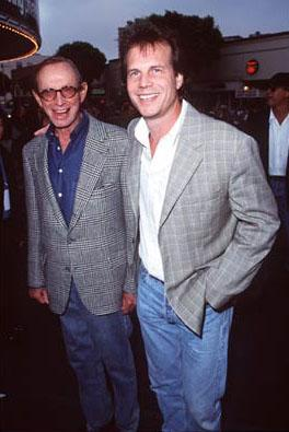 Premiere: Bill Paxton and his father at the Westwood premiere of Dreamworks' Saving Private Ryan - 7/21/1998