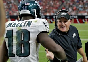 Jeremy Maclin was another productive Eagle who was no longer part of Chip Kelly's plans. (AP)