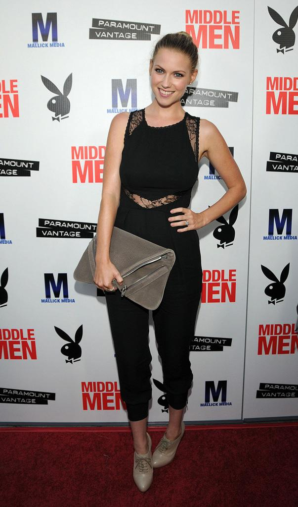 Middle Men LA Premiere 2010 Laura Ramsey