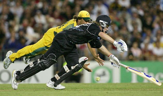 Cricket - 3rd ODI - New Zealand v Australia