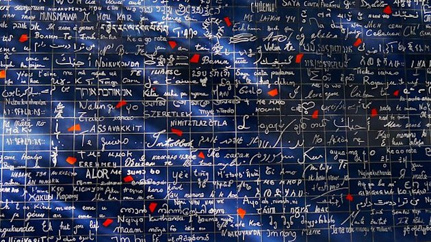 "The ""I Love You"" Wall, Paris"