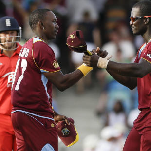 Samuels spurs Windies to T20 win over England