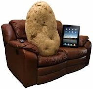 Social Media Couch Potatoes image couch potato