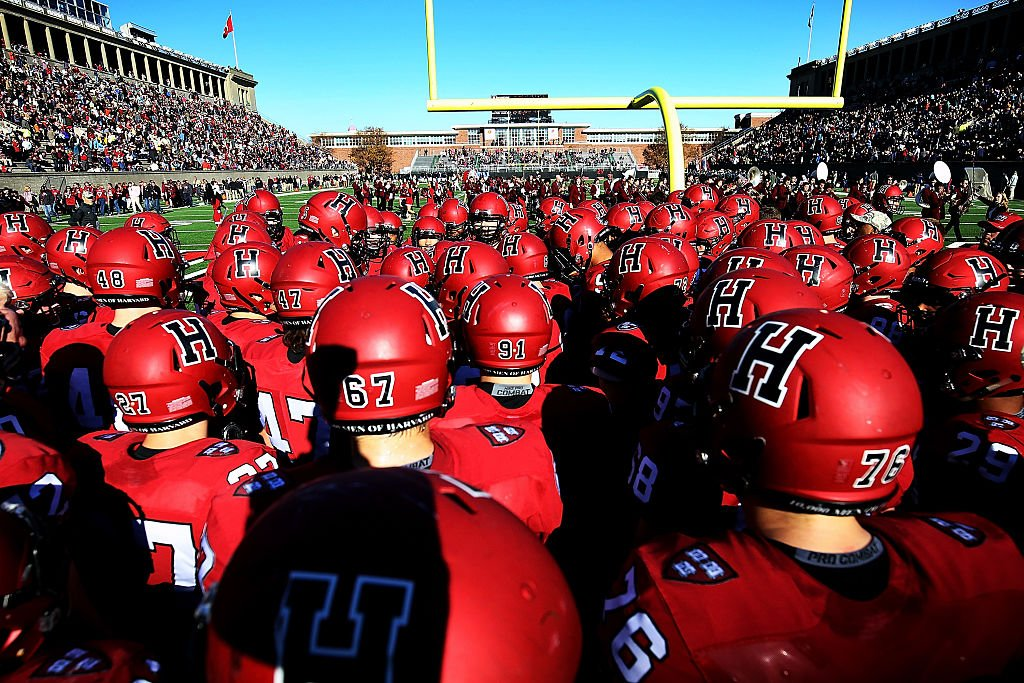 Yale defeated Harvard for the first time in the last nine attempts. (Getty Images)