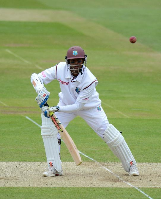 Shivnarine Chanderpaul plundered 203 not out from 372 balls