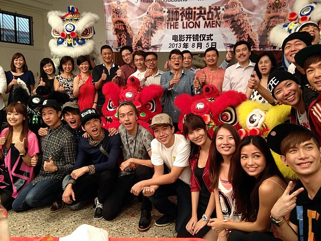 """Film director Jack Neo says his latest work, """"The Lion Men"""", will be his most challenging-ever movie. (Yahoo! photo)"""
