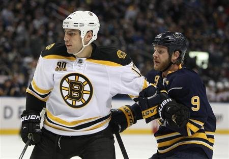 Bruins star Milan Lucic, like many NHLers, was passed over in the WHL bantam draft. Credit: Timothy T. Ludwig-USA TODAY Sports