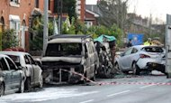 Salford Crash: Two Die As Parked Cars Hit