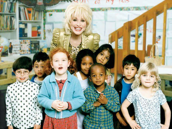 Her Imagination Library has donated 47 million books to kids