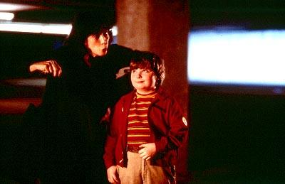 Lily Tomlin and Spencer Breslin in Disney's The Kid