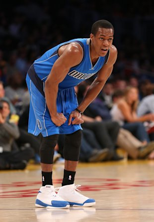 Rajon Rondo searches for a better opportunity. (Stephen Dunn/Getty Images)