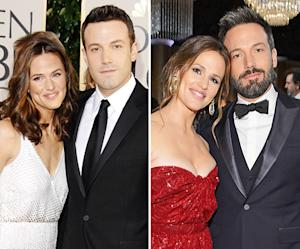 Ben Affleck, Jennifer Garner Walk First Joint Red Carpet Since 2007 Golden Globes: Compare the Pictures!