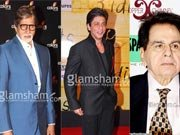 Amitabh Bachchan, Dilip Kumar, Shahrukh Khan come together